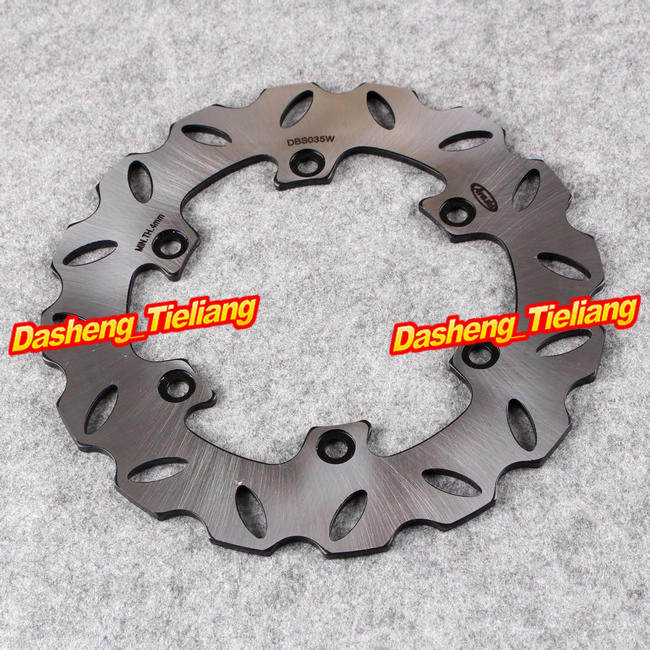 1PCS Stainless Steel Rear Brake Disc Rotor for Yamaha YZ125 YZ250 YZ360 Rally 1989-1997 YZ400F 1998-2000, Motorcycle Accessories motorcycle brake disc rotor fit for yamaha yz 125 wr 250 1988 2001 wr125 yz250 1999 2000 wr250f yz 250f yz250 wr426f 2001 rear
