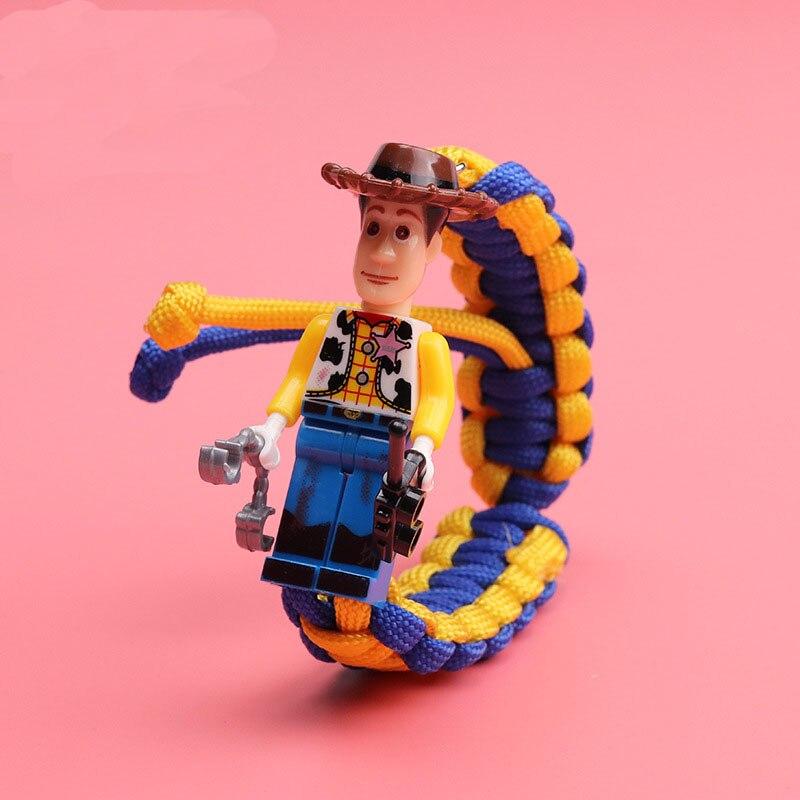 История игрушек 4 Вуди Базз Лайтер браслет Мстители эндшпиль Железный человек сайдерман браслет строительные блоки Actiefiguren Kinderen подарок