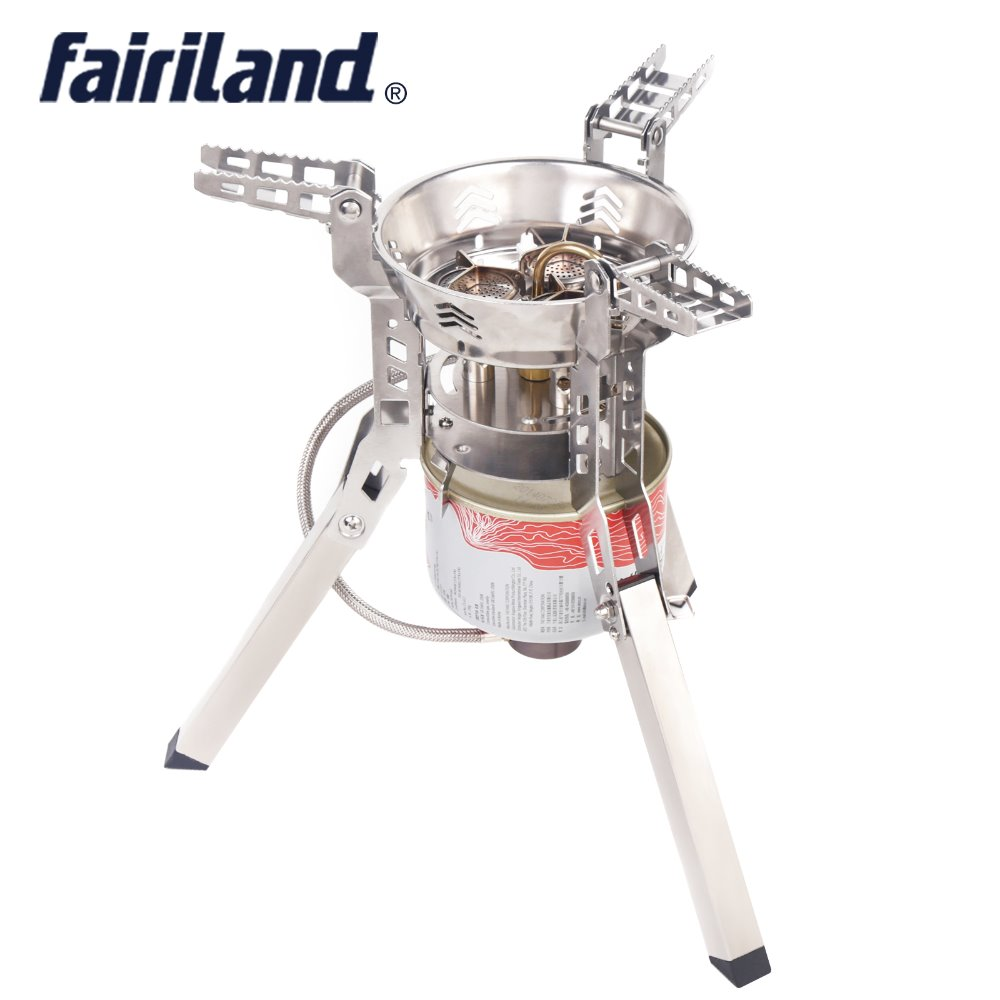 6800W 3 burners gas stove portable stove foldable propane butane burner camping equipment outdoor party cooking utensils apg 1100ml camping gas stove fires cooking system and portable gas burners