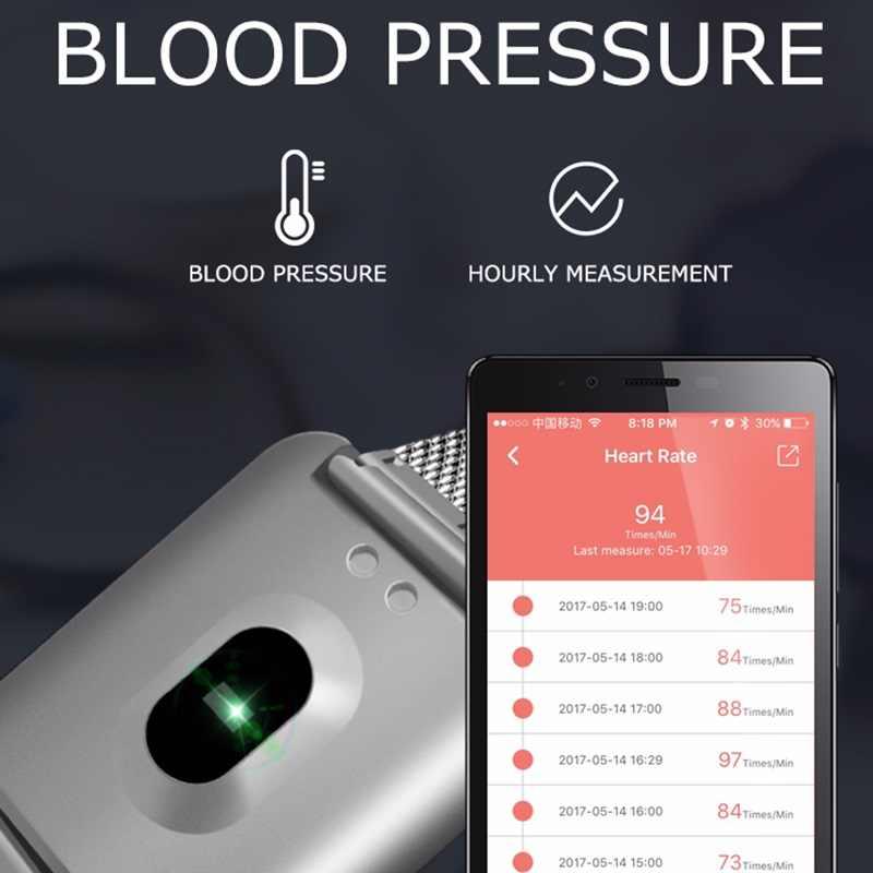 Yeni akıllı saat Renkli Kalp Hızı Kan Basıncı Tracker Spor Adım Sayacı akıllı bilezik Uyku Aktivite Izci
