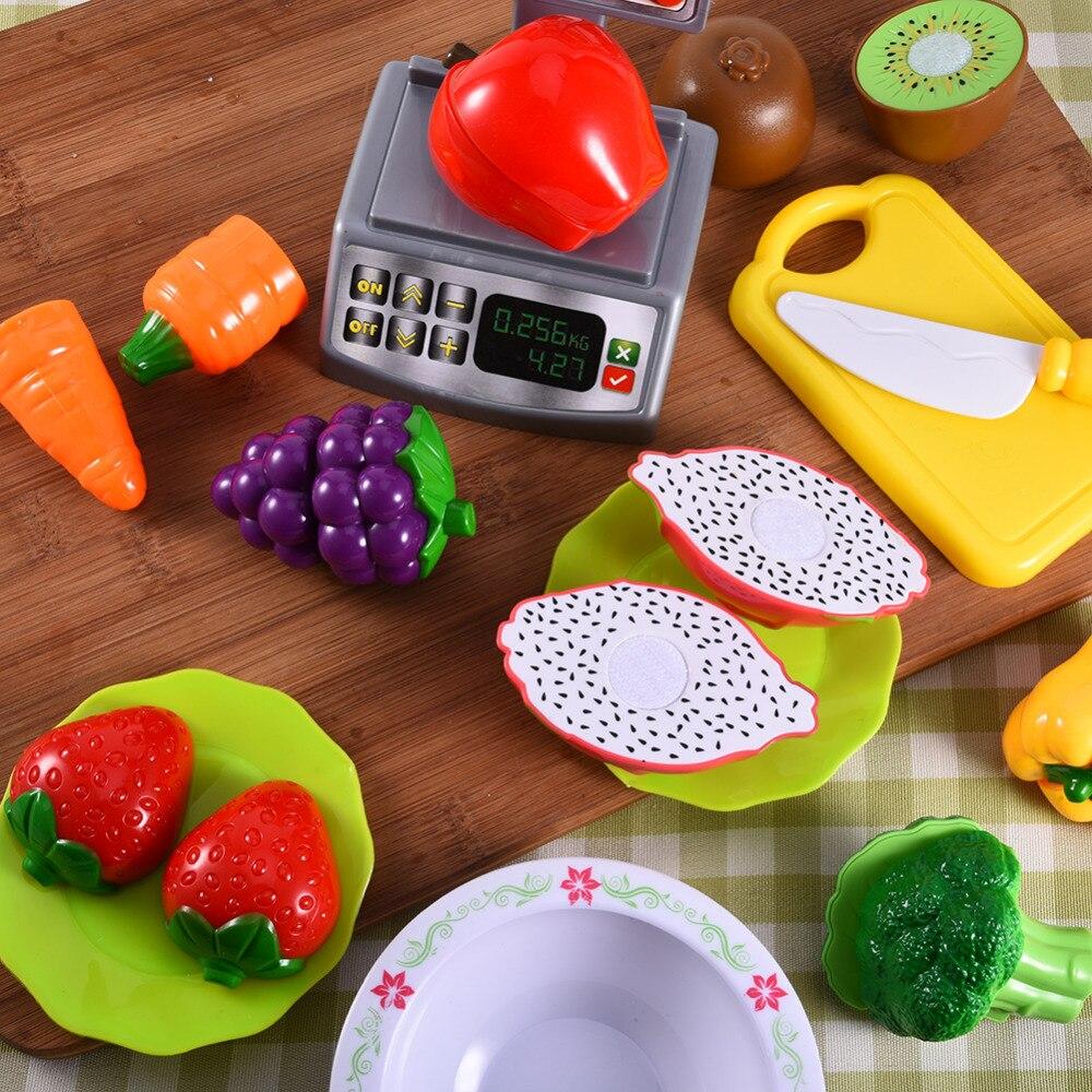 Kind Baby Klassische Küche Spielzeug Gemüse Obst Schneiden ...