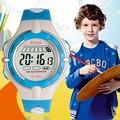 Jelly Moda Relógios digitais Para Crianças 3bar Resistente À Água Esporte Natação Mergulho Mulheres Menino e Menina Relógio De Pulso Dupla Cor