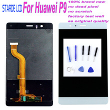 AAA+ For Huawei P9 LCD Display Touch Screen Digitizer Assembly With Frame P9 EVA-L09 EVA-L19 5.2