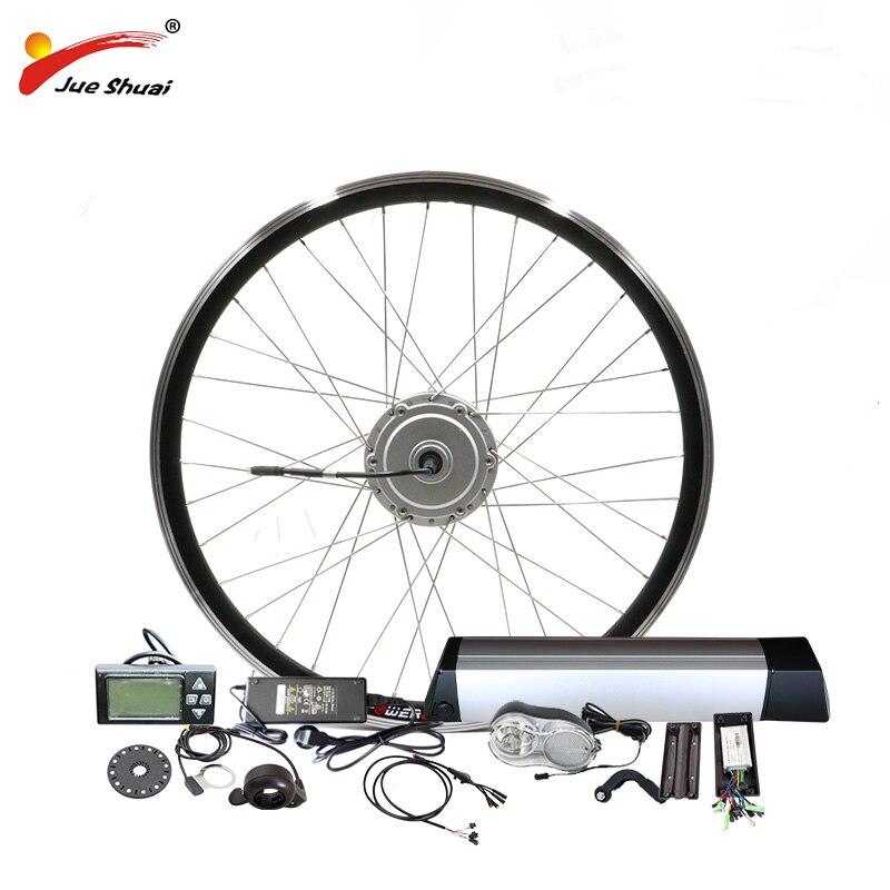 BAFANG Ebike Conversion Kit with Motor Wheel 36V 350W High Speed Brushless Gear Hub Motor 36V10AH