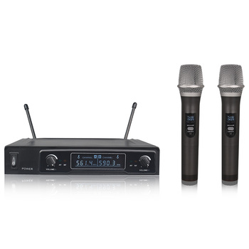 Package 107 wireless UHF system microphone, microphone handheld, pocket, earphone, / microphone, frequency fixed
