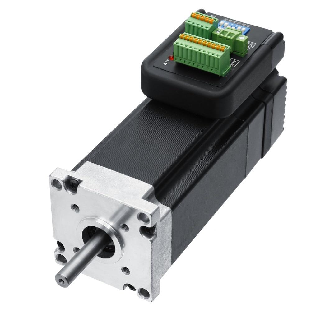 цена на 36V 57mm NEMA23 3000RPM 180W Integrated Servo Motor+Drive, Pulse direction IHSV57-30-18-36