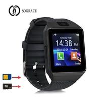 2018 Relógio Inteligente Relógio Bluetooth Smartwatch DZ09 Relógio Telefonema 2G GSM SIM Câmera Cartão TF para iPhone Samsung HUAWEI PK GT08