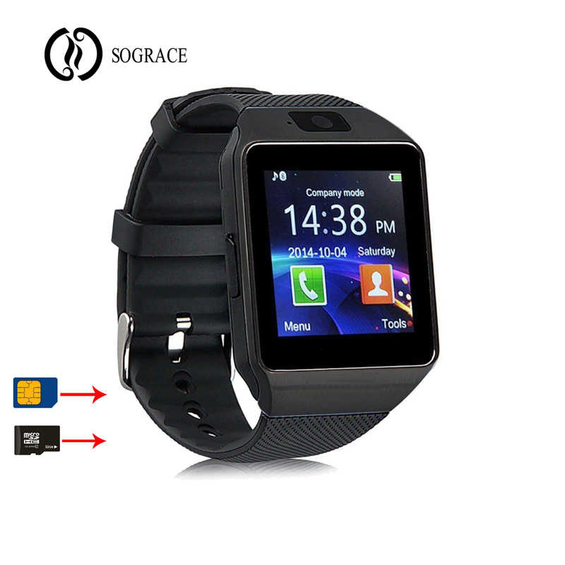 1b53b884a65 2018 Smart Watch DZ09 Smartwatch Bluetooth Watch Phone Call Relogio 2G GSM  SIM TF Card Camera