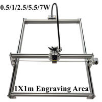 Laseraxe DIY Desktop Mini Laser Engraver Engraving Machine Laser Cutter Etcher 1X1m 500mW 1000mW 2500mW 5500mW
