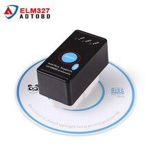 Мини ELM327 Переключатель НА/С Bluetooth V2.1 ELM 327 OBD2 OBD ii CAN-BUS Диагностический инструмент для Автомобилей Сканер Переключатель Работает на Android