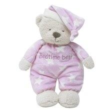 Мишка Стич Плюшевые игрушки Bedtime Медведь животного мягкая игрушка мягкая кукла сна Игрушки для маленьких детей, кукла уникальные подарки для Детская