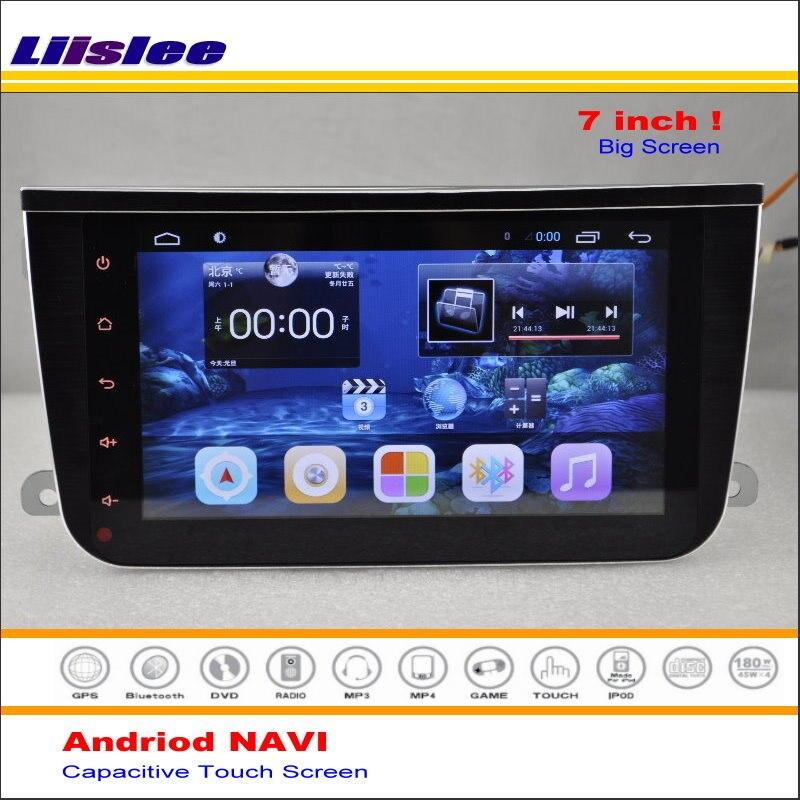 liislee car android gps navi navigation system for smart. Black Bedroom Furniture Sets. Home Design Ideas