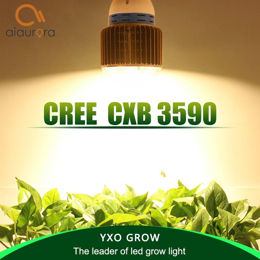 L'épi LED élèvent le CREE CXB3590 100 W 12000LM 3500 K de spectre complet léger remplacent HPS 200 W croissant l'éclairage d'intérieur de croissance de plante de LED de lampe