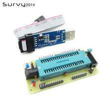 цена на AVR ATMEGA16 Minimum System Board ATmega32 + USB ISP USBasp Programmer For ATMEL