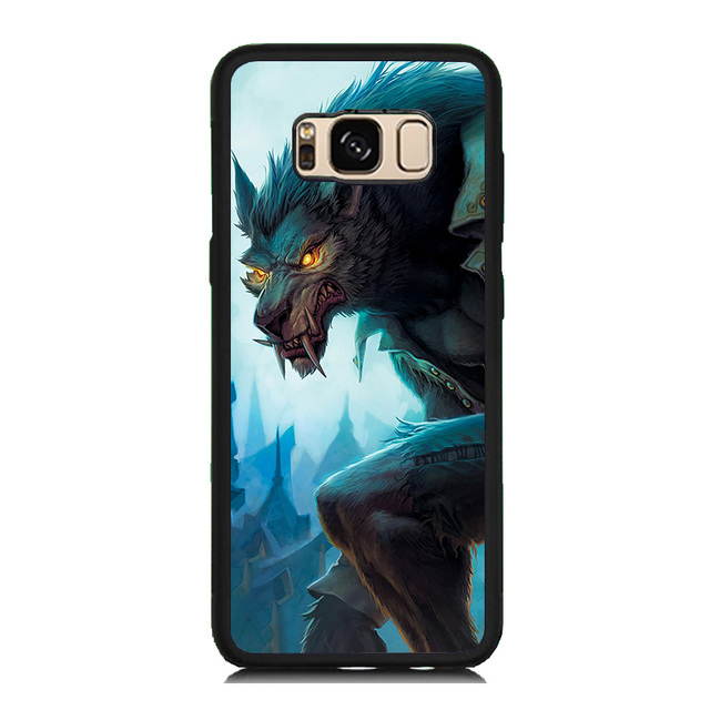 samsung s8 plus phone case wolf