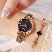 Роскошные женские наручные часы с кристаллами, элегантный тонкий браслет, женские часы, модный бренд, бриллиантовый режущий циферблат, Ретро стиль, женские часы