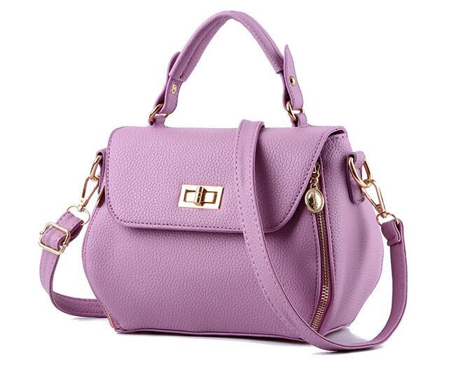 New Designer Women Bags Fashion Vintage PU Leather Handbags High Quatity Casual Shoulder Messenger Crossbody Totes