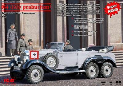 1/35 Allemand Benz G4 Agent De Voiture De Direction 1939 (35531)