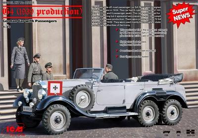 1/35 الألمانية benz g4 الضابط التنفيذي سيارة 1939 (35531)-في مجموعات البناء النموذجي من الألعاب والهوايات على  مجموعة 1
