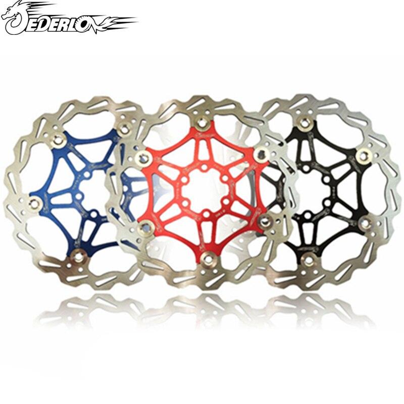 Bicycle bike MTB DH <font><b>Brake</b></font> Float Floating Disc Rotors 160/180mm 6 Bolt Floating Disc <font><b>Brake</b></font> Rotor Alloy Float Rotors Bicycle Parts
