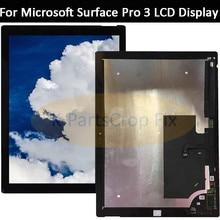Original para microsoft surface pro 3 tela de toque lcd digitalizador display pro3 (1631) painel tom12h20 v1.1 ltl120ql01 003 lcd