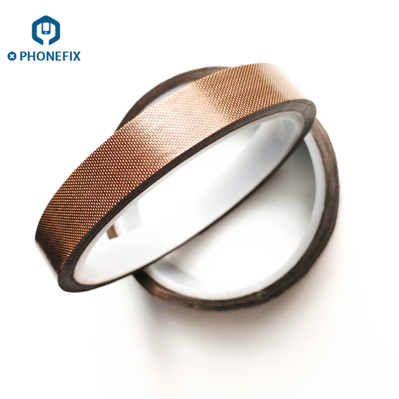 PHONEFIX Length 33mm Width 15/20mm Heat Resistant Polyimide Adhesive Tape To Cover Circuit Board For BGA PCB Welding Repair