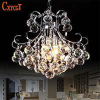 Luxury 3 light Crystal Chandelier Living Room Lamp lustres de cristal indoor Lights Crystal Pendants