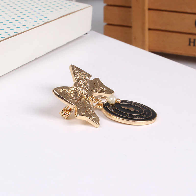 Trendy Charming Alice Bow Brooches For Women Bowknot Brooch Pin Minimalist Jewelry Fashion Jewelry Women Accessories Ornament