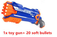 Pistol Gun Plastic Toy Gun Sniper Rifle Orbeez Arme Blaster With 12 Darts Kids Toys For nerf gun toys kids Gifts hot sale