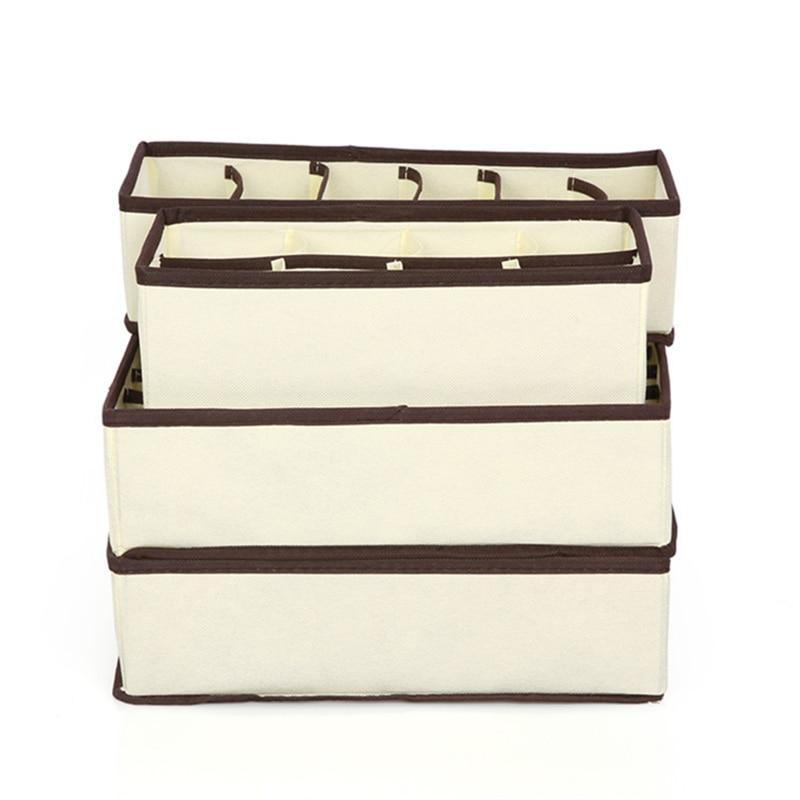 Underwear Clothes Storage Box Home Drawer Clothes Organizer For Underwear Scarves Socks Bra Home Storage Supplies