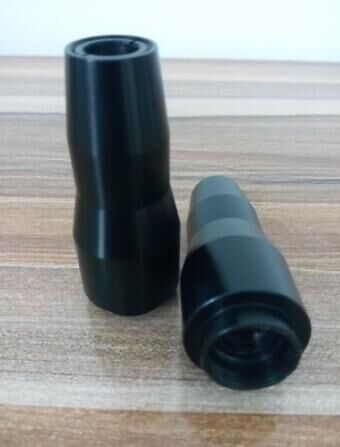 2017  laser parts factory black doll carbon laser light filter head for sale work with carbon gel 1320nm black doll laser carbon tip head probe yag laser parts beauty equipment accessories
