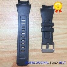 원래 dm368 손목 시계 smartwatch 스마트 시계 phonewatch 교체 손목 스트랩 시계 밴드 레드 화이트 블랙 벨트 시계 밴드