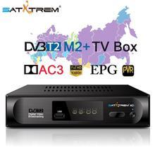 Satxtrem M2 Plus prefiks DVB-T2 Tuner TV DVBT2 Tuner DVB-T DVB T2 Vga cyfrowy TV Box odbiornik Wifi wsparcie AC3 do odzyskiwania oparów benzyny na EPG podwójny CVBS tanie tanio CN (pochodzenie) DIGITAL DVB-T2 DVB-T DVB T2 TV Tuner DVBT2 Receiver MHEG4 1080P Full HD 30fps DVB T T2 digital tv box Real Dolby AC3