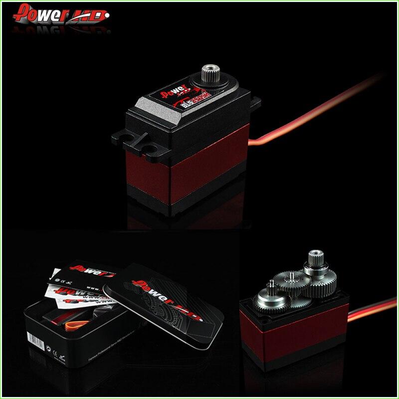 1 cái ĐIỆN HD-BLS2509H bánh răng kim loại brushless digital servo tương thích FUTABA JR SAVOX