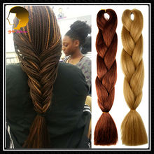24 Inches 100G Curly Braiding Hair For Black Women Blue Kanekalon Hair Xpressions Kanekalon Braiding Hair Yaki Braiding Hair