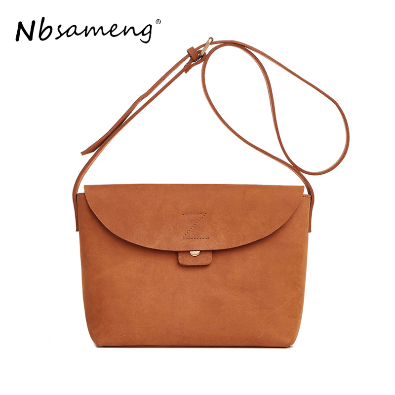 NBSAMENG New Fashion Women Genuine Leather Shoulder Messenger Bags Lady Vintage Bag Business Tote Briefcases Cow Leather Handbag new vintage genuine leather lady shoulder bag fashion portable elegant women handbag hot classic exquisite messenger bag c481