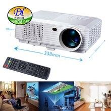 Todos Ganan 5200 lúmenes 3D LED LCD Full HD Proyector de la Ayuda 1920×1080 P Proyector de Cine En Casa Proyector de Vídeo TL120 Projetor