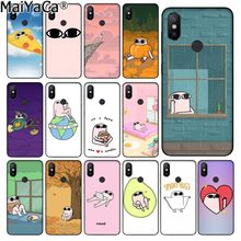 MaiYaCa Cartoon anime cute pink big eyes ketnipz Drawing Phone Case for Xiaomi Redmi 5 5Plus Note4 4X Note5 6A Mi 6 Mix2 Mix2S(China)