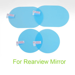 Image 3 - Car Mirror Side Window Clear Film Anti Fog Membrane Waterproof Rainproof Car Anti Water Sticker Car Accessories 2PCS/Set