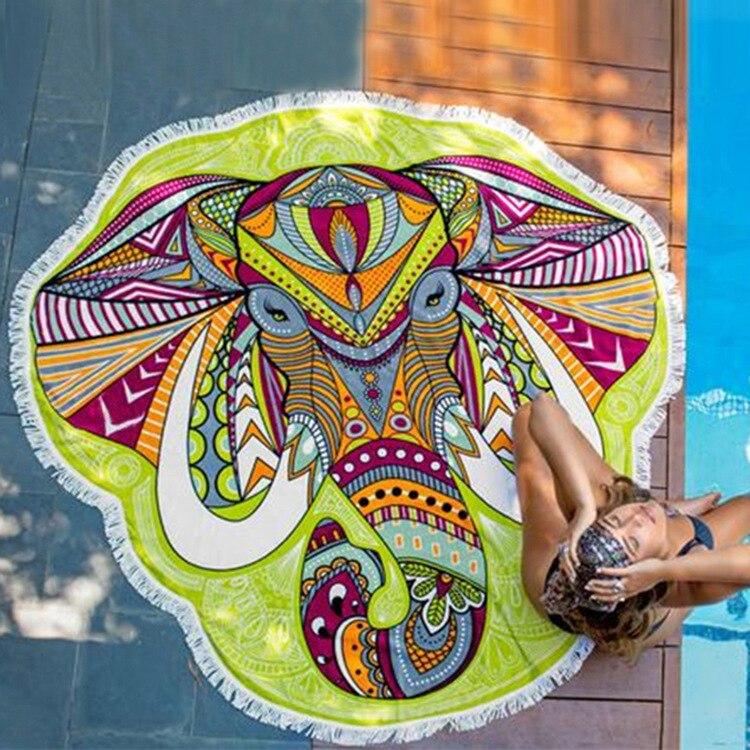 CAMMITEVER Priljubljeni Ins Vroča prodaja Zeleni slon obroben - Domači tekstil