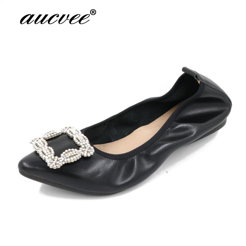 Ladies Shoes Fashion Rhinestone Bow Women Flats Spring Slip On Loafers Women Pointed Toe Flat Shoes Waman BLACK ROSE BLUE Flats odetina 2017 spring elegant driving shoes loafers women fashion pointed toe flats slip on boat shoes grandma casual flat shoes