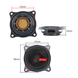 """Image 5 - Ghxamp 2"""" inch 58MM Bass Radiator Passive Speaker Auxiliary Woofer Gain For 2"""" 2.5"""" 3"""" Inch Dive deep Low frequency Speaker DIY"""