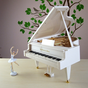 European style piano ballerina music box gift sky city muziekdoosje tous jewelry valentines day gift