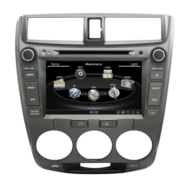 ZESTECH High Performance Double Din Car Accessories For Honda CITY 2008 Car  Accessories With TV,