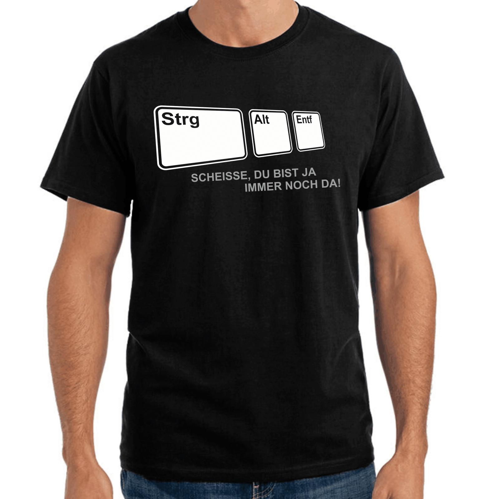 Strg + ALT + entf  развлечения  Nerd  геймер  PC  Geek  S-XXL футболка