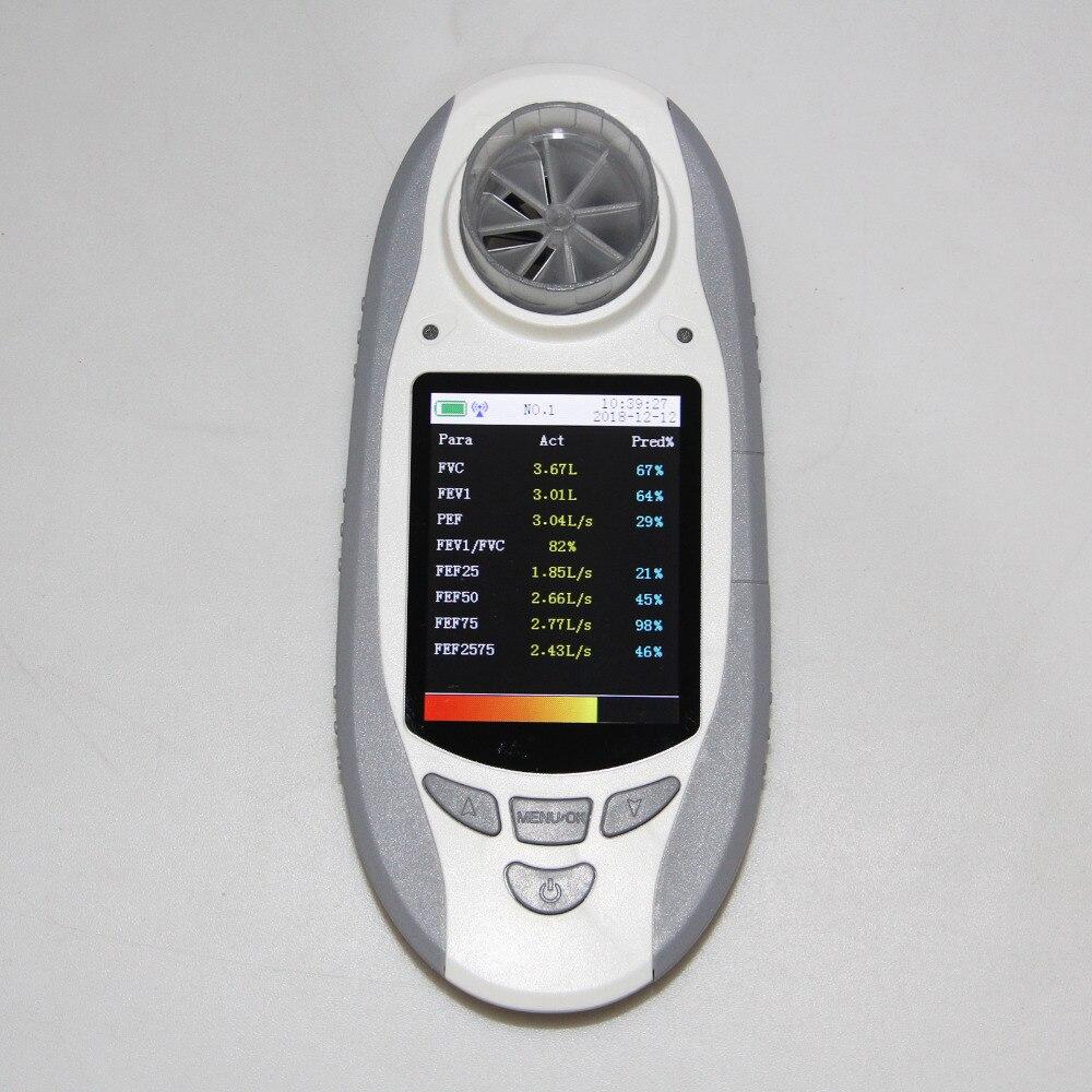 CONTEC Digital Spirometer SP10BT Lung Breathing Diagnostic Vitalograph Spirometry + Software