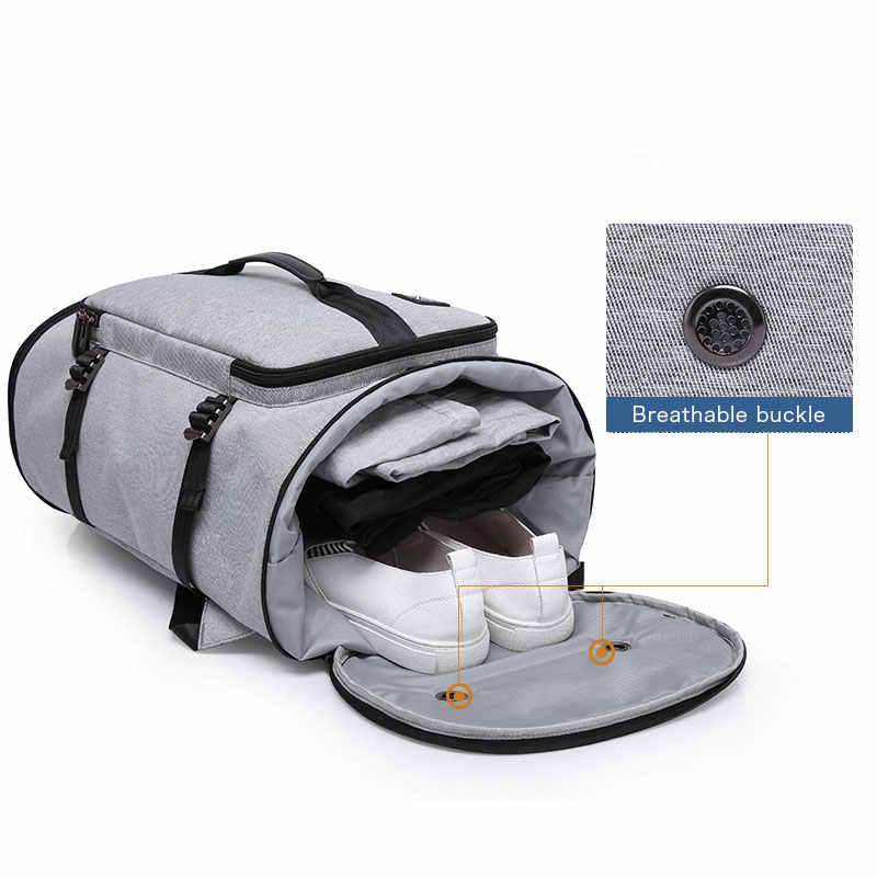 KAKA 40L мужской рюкзак 15,6 сумка для ноутбука рюкзак для путешествий спортивные сумки для фитнеса для женщин подростков школьная сумка рюкзак