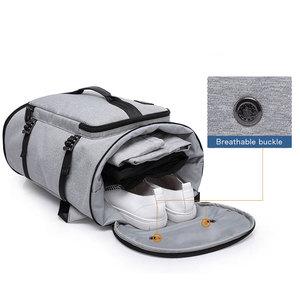 Image 3 - KAKA 40L Men Backpack 15.6 Laptop bag Shoes Backpack Travel Sports Fitness Bags For Women Teenagers School Bagpack Rucksack