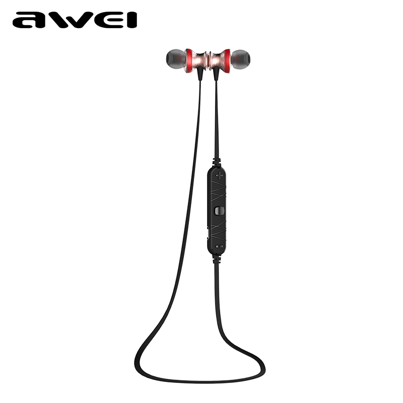 Awei A980BL Wireless Bluetooth Earphones Sports Headset Handsfree Headphone with Mic for Mobile phone fone de ouvido Auriculares bluetooth earphone wireless music headphone car kit handsfree headset phone earbud fone de ouvido with mic remax rb t9