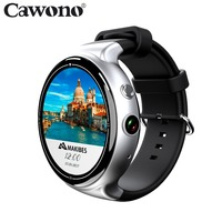 Cawono CA05 3G WiFi GPS Smart Watch MTK6580 Bluetooth Android 5.1 2GB 16GB Heart Rate Monitor Smartwatch Wearable Device VS KW88